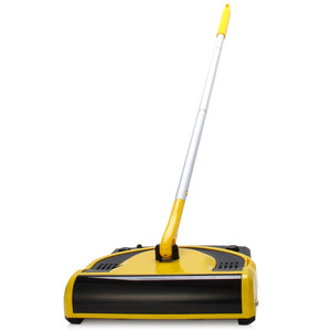 Coupcou.com: W-S058 Handle Push Type Cordless Electric Sweeping Robot Smart Automatic Cleaner Drag Mop