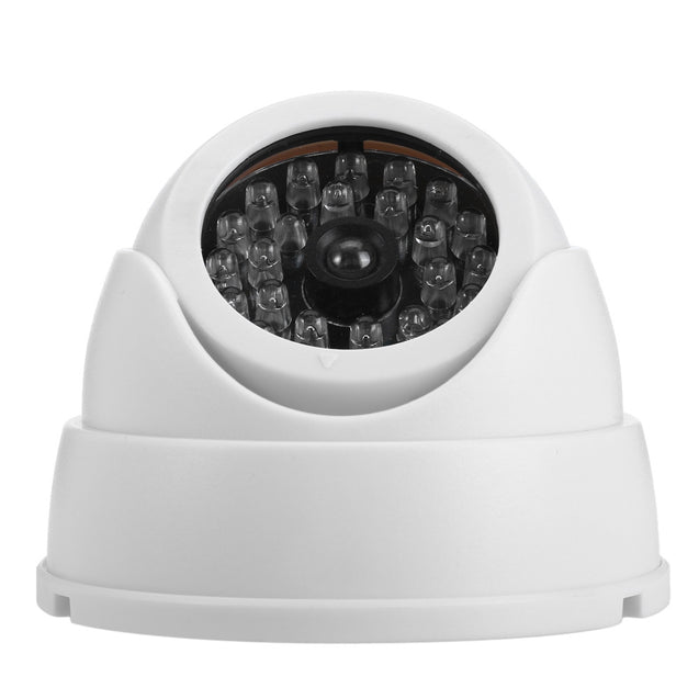 Coupcou.com: Realistic Dummy Surveillance Security Fisheye Camera with Flashing LED Light