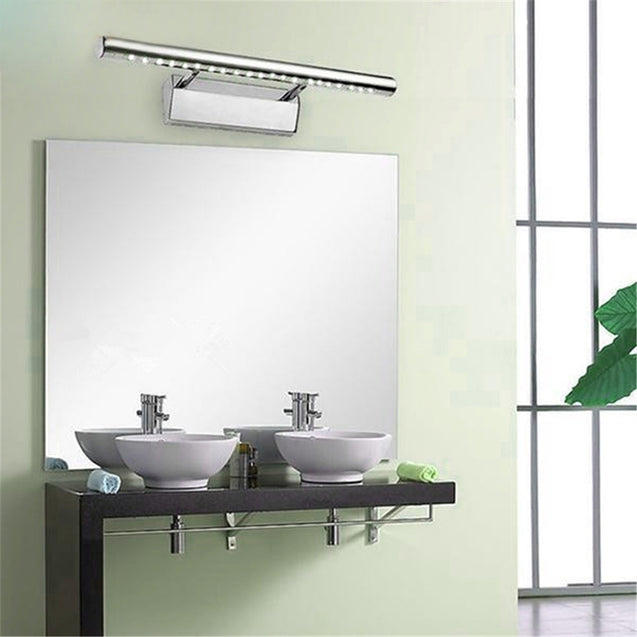 Coupcou.com: 40cm 5W LED Mirror Front Lamp Bathroom Wall Light Stainless Steel Indoor Lighting Fixture