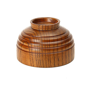 Coupcou.com: Wood Bowl of Natural Wooden Tableware