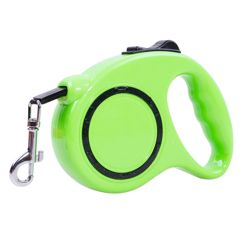5 m Traction Belt with Automatic Telescopic Rope Portable Pet Dog SuppliesMINT GREEN