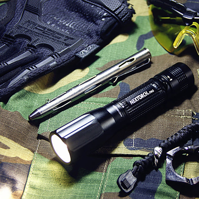 Coupcou.com: NEXTORCH PA5 360 Degrees Rotate Focus Adjustable USB Rechargeable Flashlight