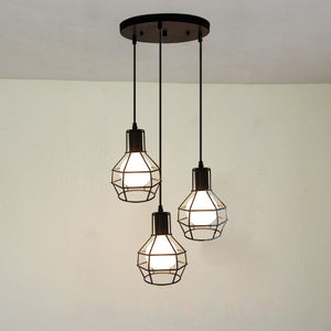 Coupcou.com: Nordic Iron Industry Vintage Home Decor Pendant Light Fixtures Restaurant DD-29