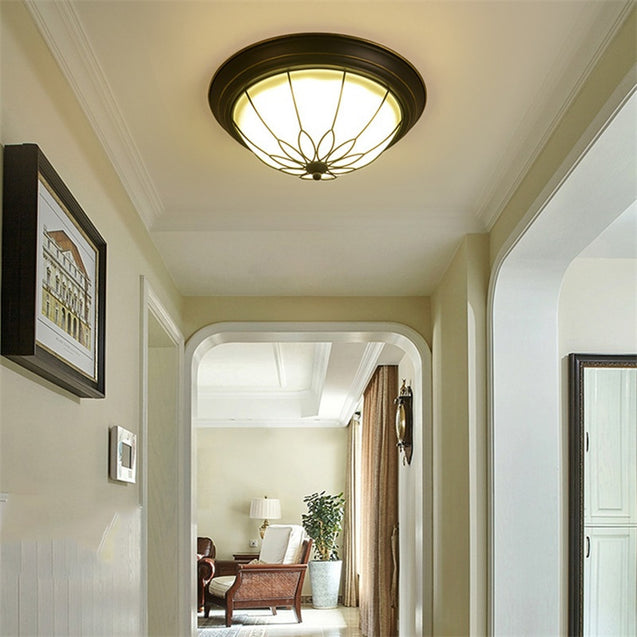 Coupcou.com: JUEJA European Ceiling Light 12W LED Lamp for Living Room Bedroom Study Room Balcony