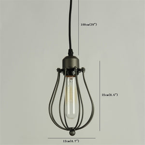 Coupcou.com: Nordic Iron Industry Vintage Home Decor Pendant Light Fixtures Restaurant DD-31