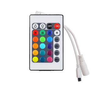 Coupcou.com: KWB  RGB LED Strip Light 300leds RGB 60leds/m with 24key Ir Remote Controller