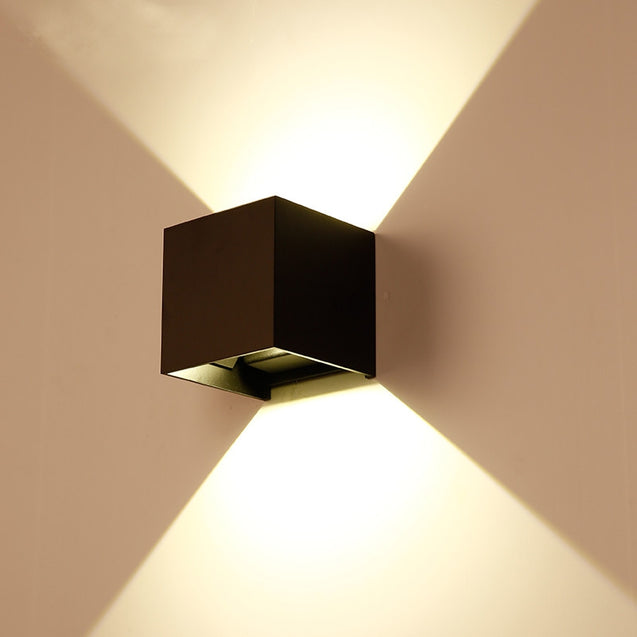 Coupcou.com: Indoor and Outdoor Waterproof Wall Lamp Garden and Corridor Light AC 85 - 265V