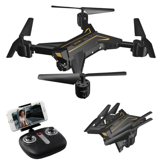 Coupcou.com: K520 Foldable Drone 30W HD Camera Quadcopter WiFi FPV Live Helicopter Hover