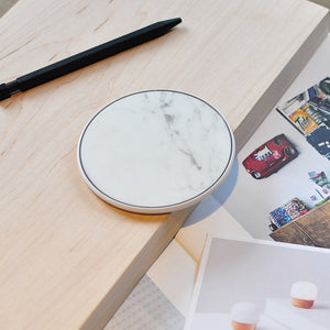 Coupcou.com: ZIISTLE Natural Marble Wireless Charger