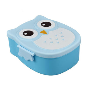 Coupcou.com: Owl Lunch Food Container Storage Box Portable