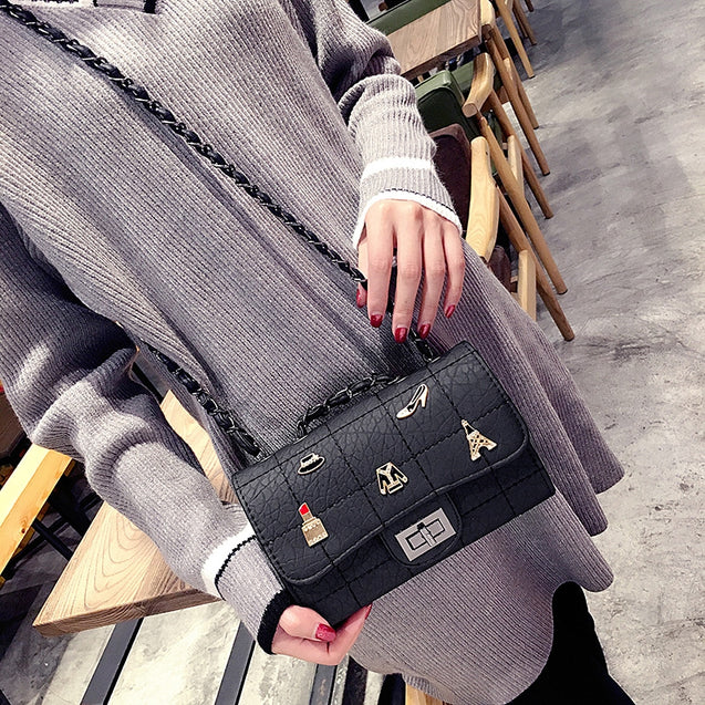 Coupcou.com: Spring Summer European American Single Shoulder Chain Bag Female