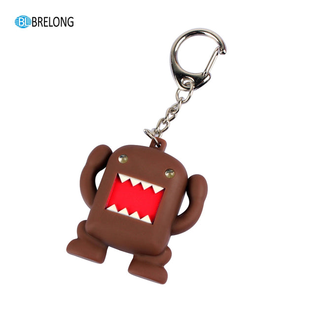 Coupcou.com: Brelong Noise- making  Cartoon  Keychain with LED Light Pendant
