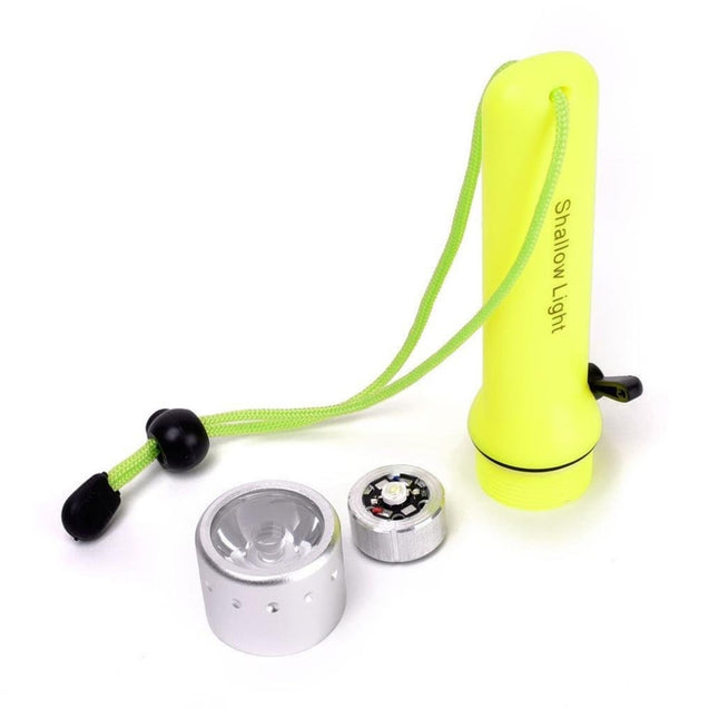 Coupcou.com: HKV LED Waterproof Diving Flashlight 200-500 Lumens for Underwater Lamp Hiking