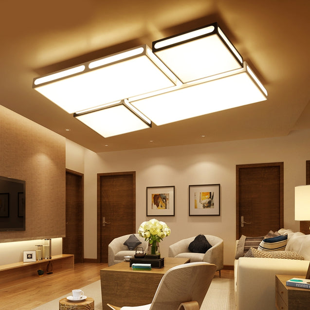 Coupcou.com: MYX14 - 128W - WJ Promise Dimming Ceiling Lamp AC 220V