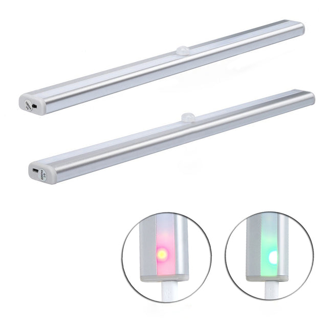 Coupcou.com: Portable Rechargeable Wireless Infrared Sensor LED Staircase Lights