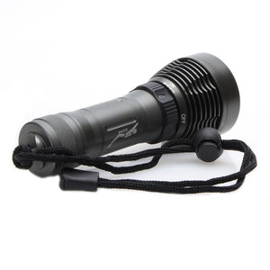 Coupcou.com: ZHISHUNJIA D2 900lm CREE XM-L T6 1-LED 8-Mode White Diving Flashlight