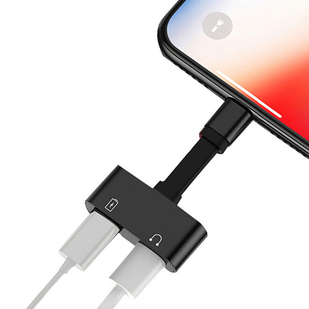 Coupcou.com: 2 in 1 Adapter Charging Audio