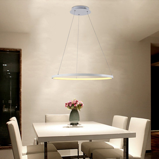 Coupcou.com: Everflower Modern Led Pendant Light Fixture Ceiling Chandelier for Contemporary Home Max 24W