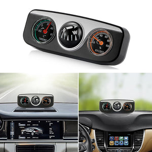 Coupcou.com: Vehicles Navigation Compass Thermometer Hygrometer Car Interior Accessories