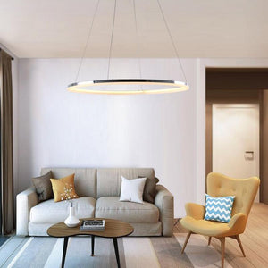 Coupcou.com: Modern LED Ring Shape Pendant lamp Creative Style for Living Dining Room Bedroom