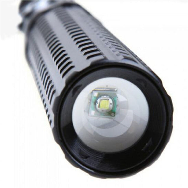 Coupcou.com: HKV XPE 6000K Telescopic Zoom LED Light Flashlight for Self-Defense Mace
