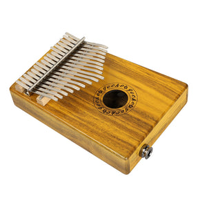 Coupcou.com: GECKO Mbira Sanza 17 Keys Thumb Piano with Kalimba BOX