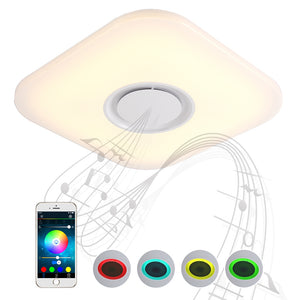 Coupcou.com: X815F - 24W - LY Music Color Change Ceiling Light With Smart Bluetooth APP AC 220V