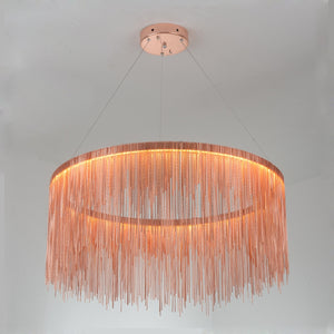 Coupcou.com: Postmodern Engineering Circle Dining Room Tassel Pendant Lamp