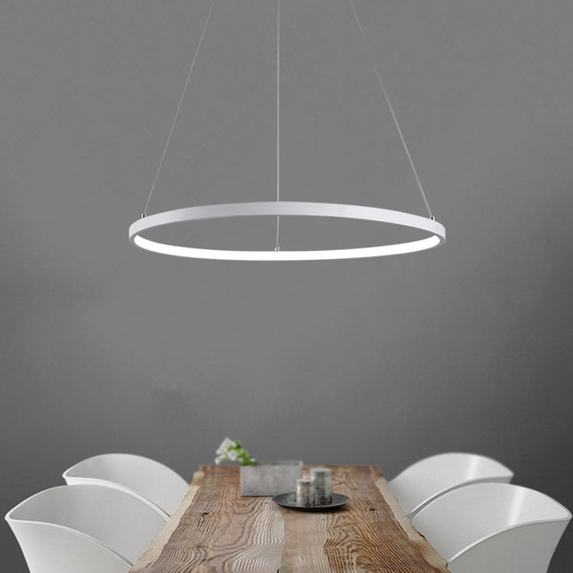 Coupcou.com: Everflower Modern Led Pendant Light Fixture Ceiling Chandelier for Contemporary Living Room Bedroom Dining Room Max 30W
