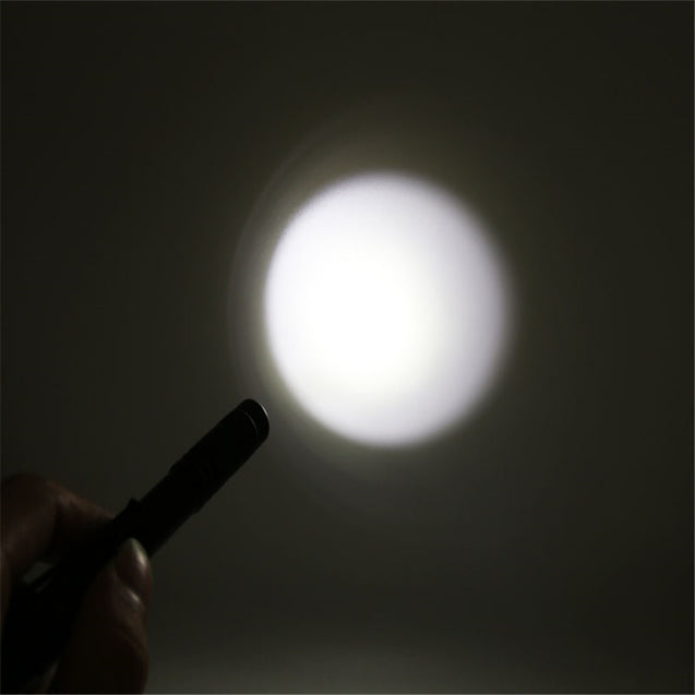Coupcou.com: HKV 6000K Small Mini Flashlight Ultra Bright LED Pen Light Pocket Clip Tactical Torch Lamp