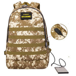Coupcou.com: Camouflage Casual Backpack Fashion Shoulder Cosplay Bags