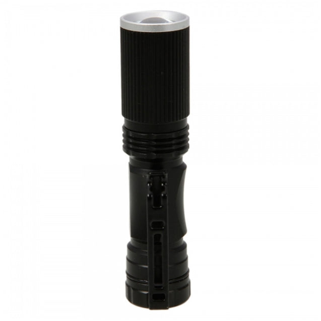 Coupcou.com: YWXLight XPE-Q5 LED 200LM 3 Modes Telescopic Zoom Ultra Bright Neutral White Light Mini Flashlight