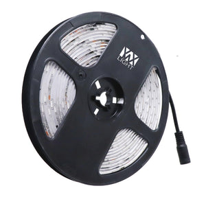 Coupcou.com: YWXLight 30LEDS/M 5M 5050 RGB LED Strip Chasing Lights IP65 Waterproof Flexible RGB Strips DC 12V