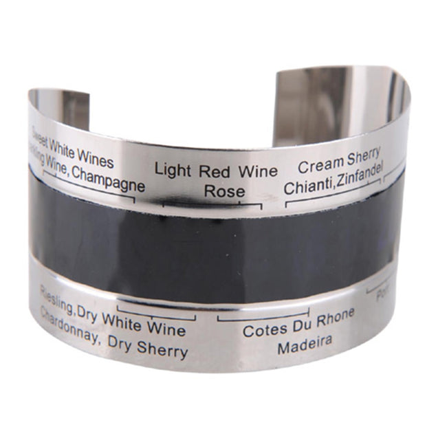 Coupcou.com: Hoard Stainless Steel Wine Bracelet Thermometer 4-26 Centigrade Degree Red Wine Temperature Sensor