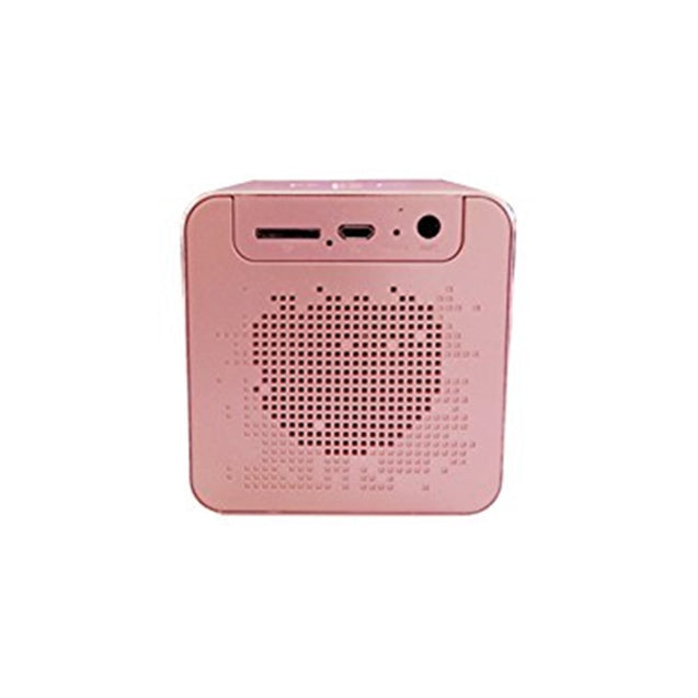 Coupcou.com: V9 Wireless Metal Mini Bluetooth Speaker Alarm Clock LCD Screen