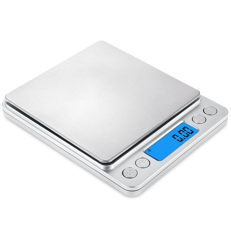 1000g / 0.1g Electronic Mini Kitchen Weight Scale Digital High-precisionSILVER