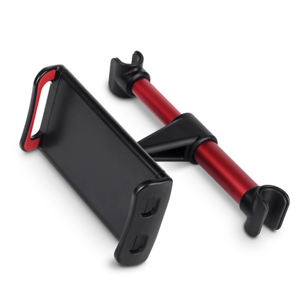 4 - 11.5 inch Back Seat Car Holder Extendable and Rotatable Support BracketRED