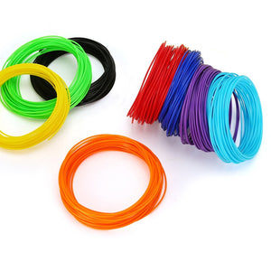 Coupcou.com: 20 Colors Each Color 11 Meter 1.75MM PLA 3D Printing Pen Filament Refills