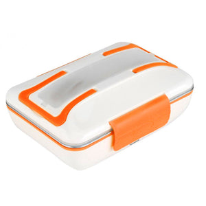 Coupcou.com: Stainless Steel Portable Insulation Electric Lunch Box