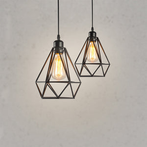 Coupcou.com: LOFT Nordic Iron Simple Industry Vintage Home Decor Pendant Light Fixtures Restaurant DD-03