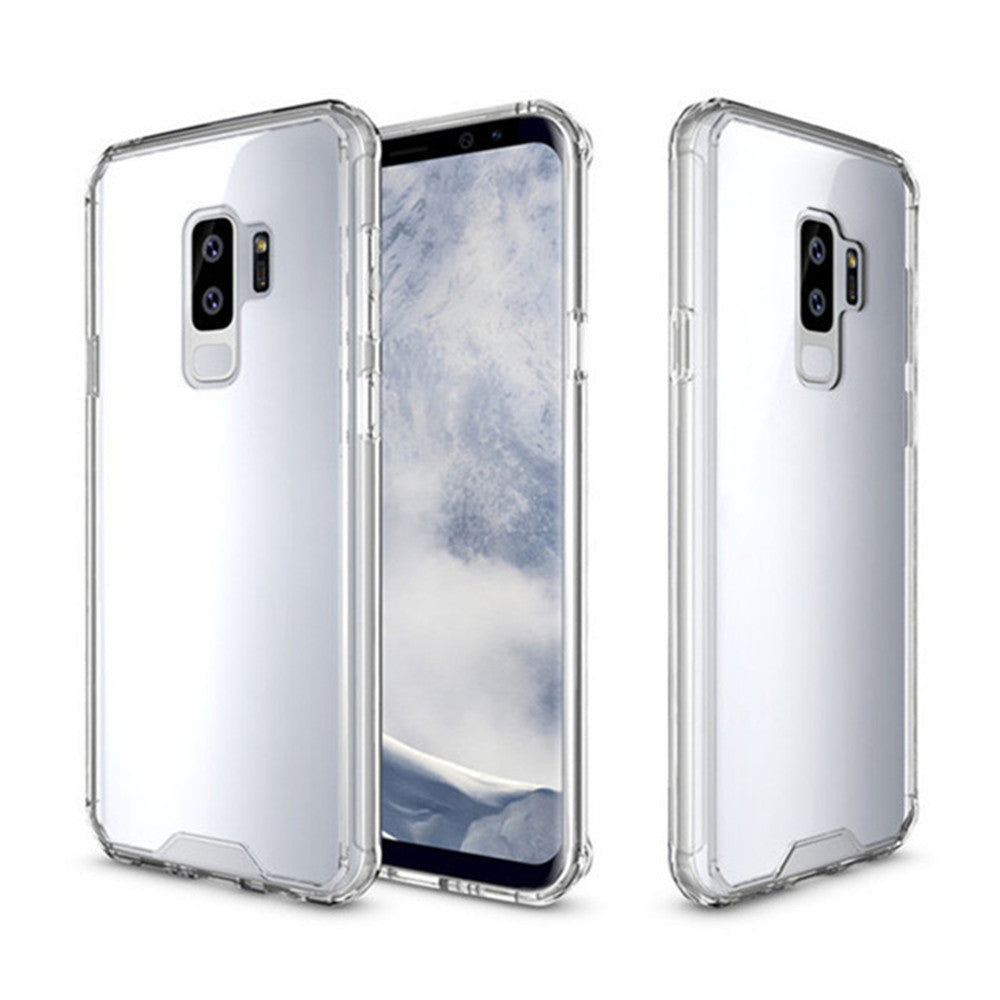 Cover Case for Samsung Galaxy S9 Plus Luxury Shockproof Hybrid Armor Crystal Hard PC Back Full P...TRANSPARENT