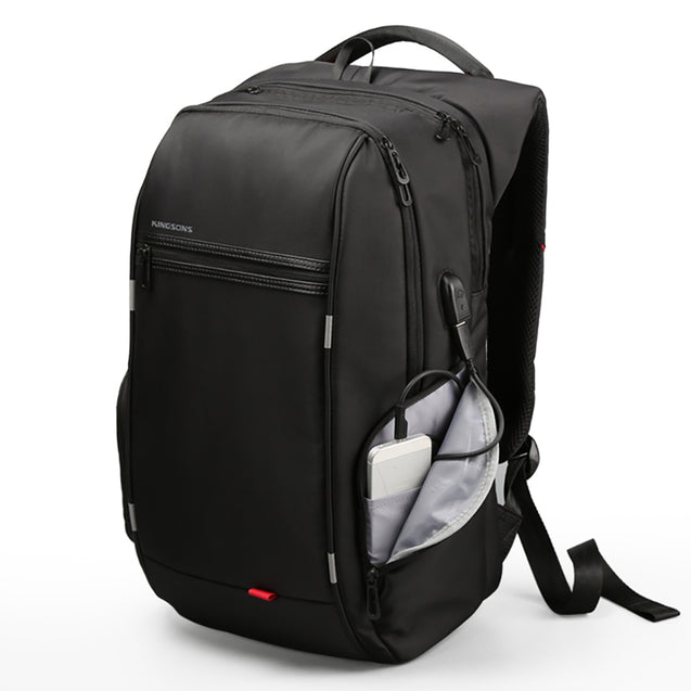 Coupcou.com: Kingsons KS3140W USB Charge Computer Backpacks Anti-Theft Waterproof Bags Fo Men
