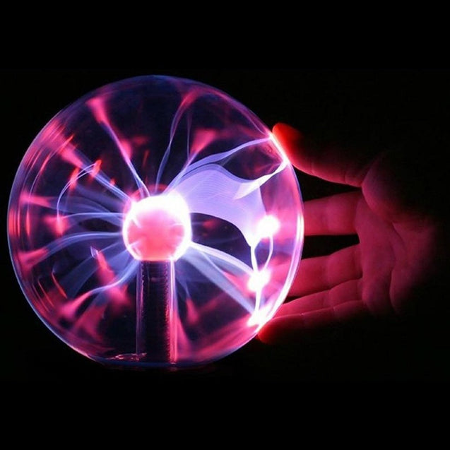 Coupcou.com: Magic USB Glass Plasma Ball Lamp Sphere Lighting Crystal Party Light Bulb