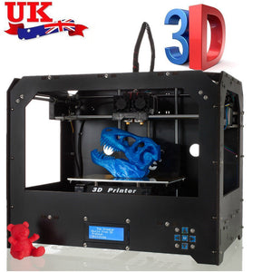 Coupcou.com: BIZER Factory FDM - Black Makerbot Replicator 3D-Printer 2 Extruders NEW