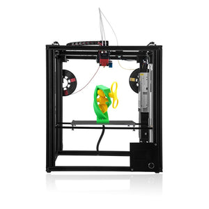 Coupcou.com: ZONESTAR Z9 Large Size Aluminum Frame Dual Extruder Mixing Color