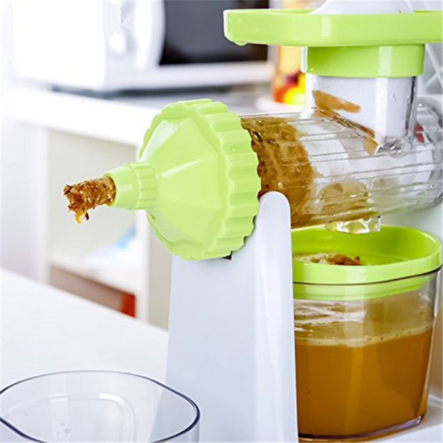 Coupcou.com: Hand Crank Single Auger Health Juicer Fruit And Vegetable Juice