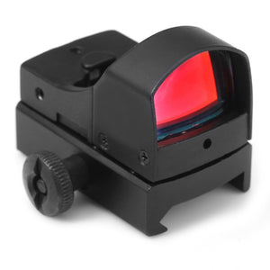 Coupcou.com: Tactical Mini Holographic Reflex Sight Red Dot Scope Light Adjustable Brightness