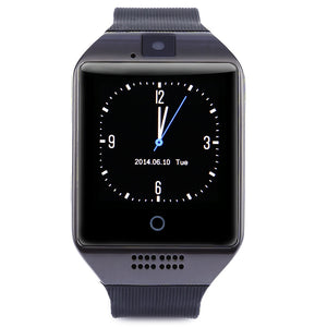 Coupcou.com: Q18 1.54 inch Smartwatch Phone MTK6260A 360MHz 2.5D Screen Pedometer Sedentary Reminder NFC Bluetooth Camera