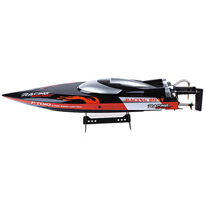 Coupcou.com: FeiLun FT010 2.4G RC Racing Boat 35km/h with Built-in Cooling System Righting Function