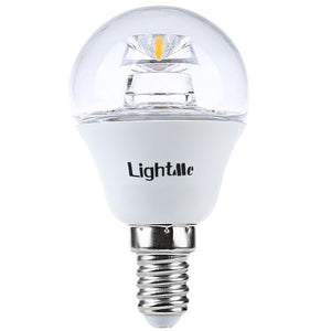 Coupcou.com: Lightme 4Pcs 5W 110-240V 420Lm E14 P45 3000K LED Bulbs